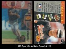1995 Sportflix Artists Proofs #122
