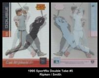 1995 Sportflix Double Take #5