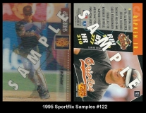 1995 Sportflix Samples #122