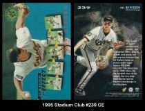 1995 Stadium Club #239 CE