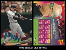 1995 Stadium Club #510 EC