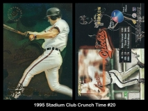 1995 Stadium Club Crunch Time #20