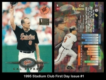 1995 Stadium Club First Day Issue #1