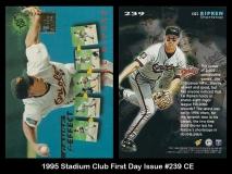 1995 Stadium Club First Day Issue #239 CE