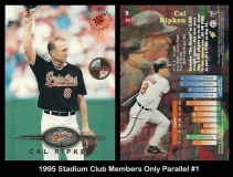 1995 Stadium Club Members Only Parallel #1