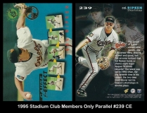 1995 Stadium Club Members Only Parallel #239 CE