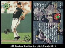 1995 Stadium Club Members Only Parallel #314
