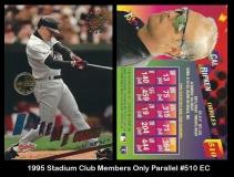 1995 Stadium Club Members Only Parallel #510 EC