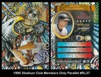 1995 Stadium Club Members Only Parallel #RL27