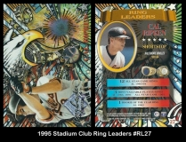 1995 Stadium Club Ring Leaders #RL27