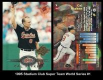 1995 Stadium Club Super Team World Series #1