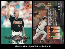 1995 Stadium Club Virtual Reality #1