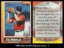 1995 Star Co #10 Did you know