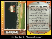 1995 Star Co #104 Where are they now