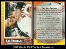 1995 Star Co #105 The Best Excuses - 4
