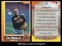 1995 Star Co #12 Turning Pro