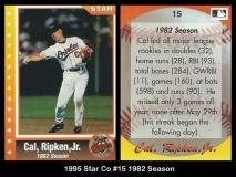 1995 Star Co #15 1982 Season