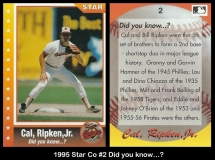 1995 Star Co #2 Did you know