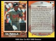 1995 Star Co #23 1989 Season