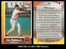 1995 Star Co #24 1990 Season