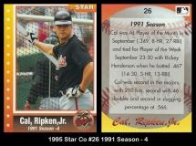 1995 Star Co #26 1991 Season - 4