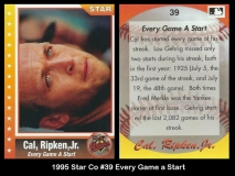 1995 Star Co #39 Every Game a Start