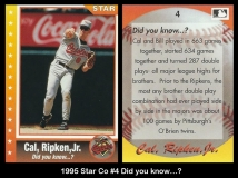 1995 Star Co #4 Did you know