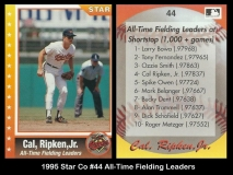 1995 Star Co #44 All-Time Fielding Leaders