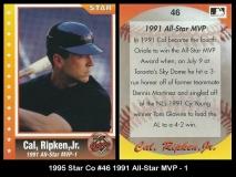 1995 Star Co #46 1991 All-Star MVP -1