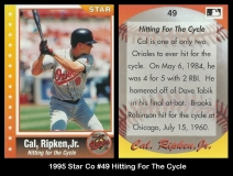 1995 Star Co #49 Hitting For The Cycle