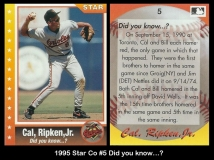 1995 Star Co #5 Did you know