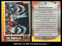 1995 Star Co #65 The Best Excuses -1
