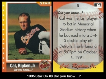 1995 Star Co #8 Did you know