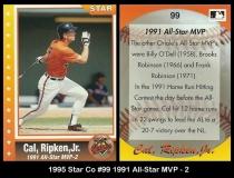1995 Star Co #99 1991 All-Star MVP - 2