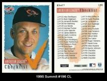 1995 Summit #196 CL