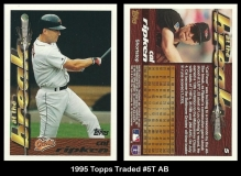 1995 Topps Traded #5T AB