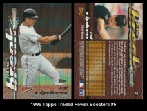 1995 Topps Traded Power Boosters #5