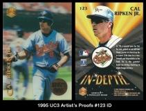 1995 UC3 Artists Proofs #123 ID