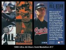 1995 Ultra All-Stars Gold Medallion #17