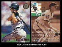 1995 Ultra Gold Medallion #258