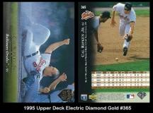 1995 Upper Deck Electric Diamond Gold #365