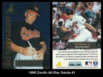 1995 Zenith All-Star Salute #1