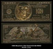 1996-Bleachers-23kt-Gold-100-Bill-NNO