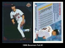 1996 Bowman Foil #1
