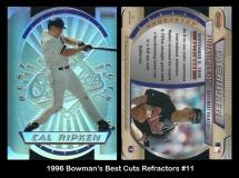 1996 Bowmans Best Cuts Refractors #11
