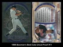 1996 Bowmans Best Cuts Uncut Proof #11