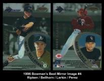 1996 Bowmans Best Mirror Image #4