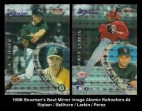 1996 Bowmans Best Mirror Image Atomic Refractors #4
