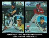 1996 Bowmans Best Mirror Image Refractors #4