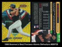 1996 Bowmans Best Previews Atomic Refractors #BBP28